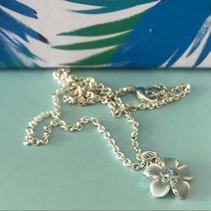 Hawaiian flower necklace 16 inches